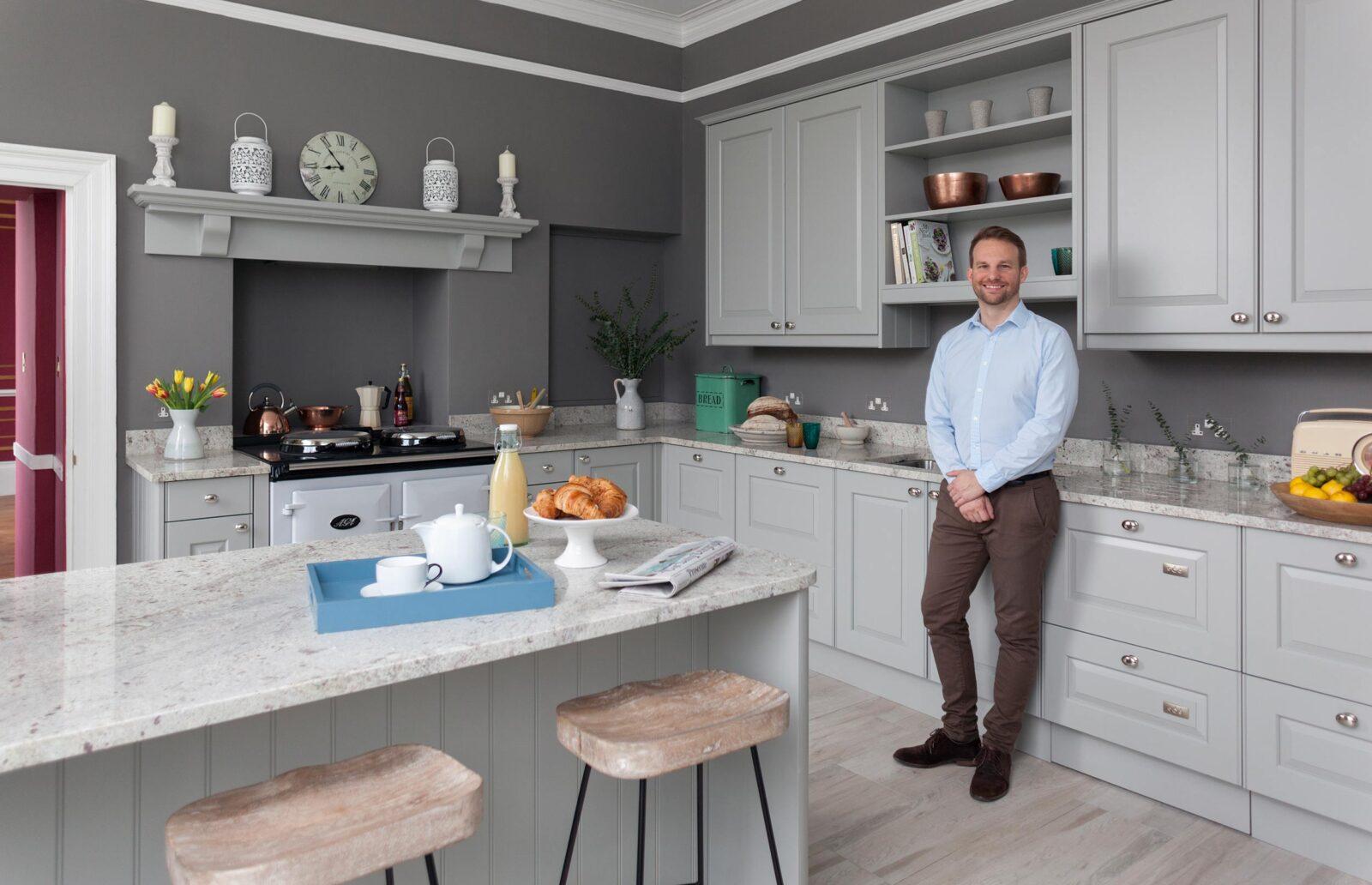 James Horsfall, Managing Director of Bath Kitchen Company