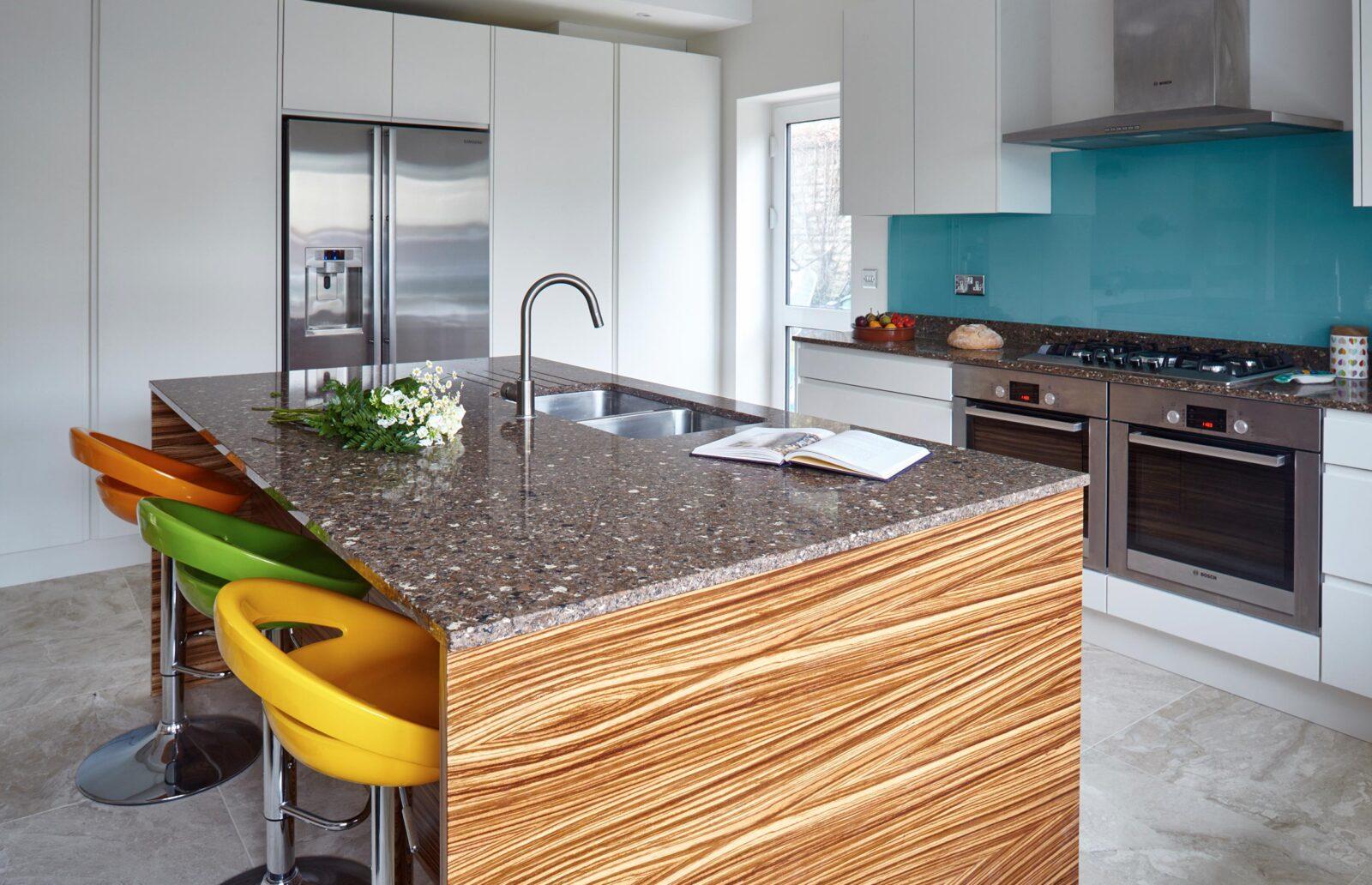 Conversion Bespoke Kitchen - Modern Style with Grey Flooring