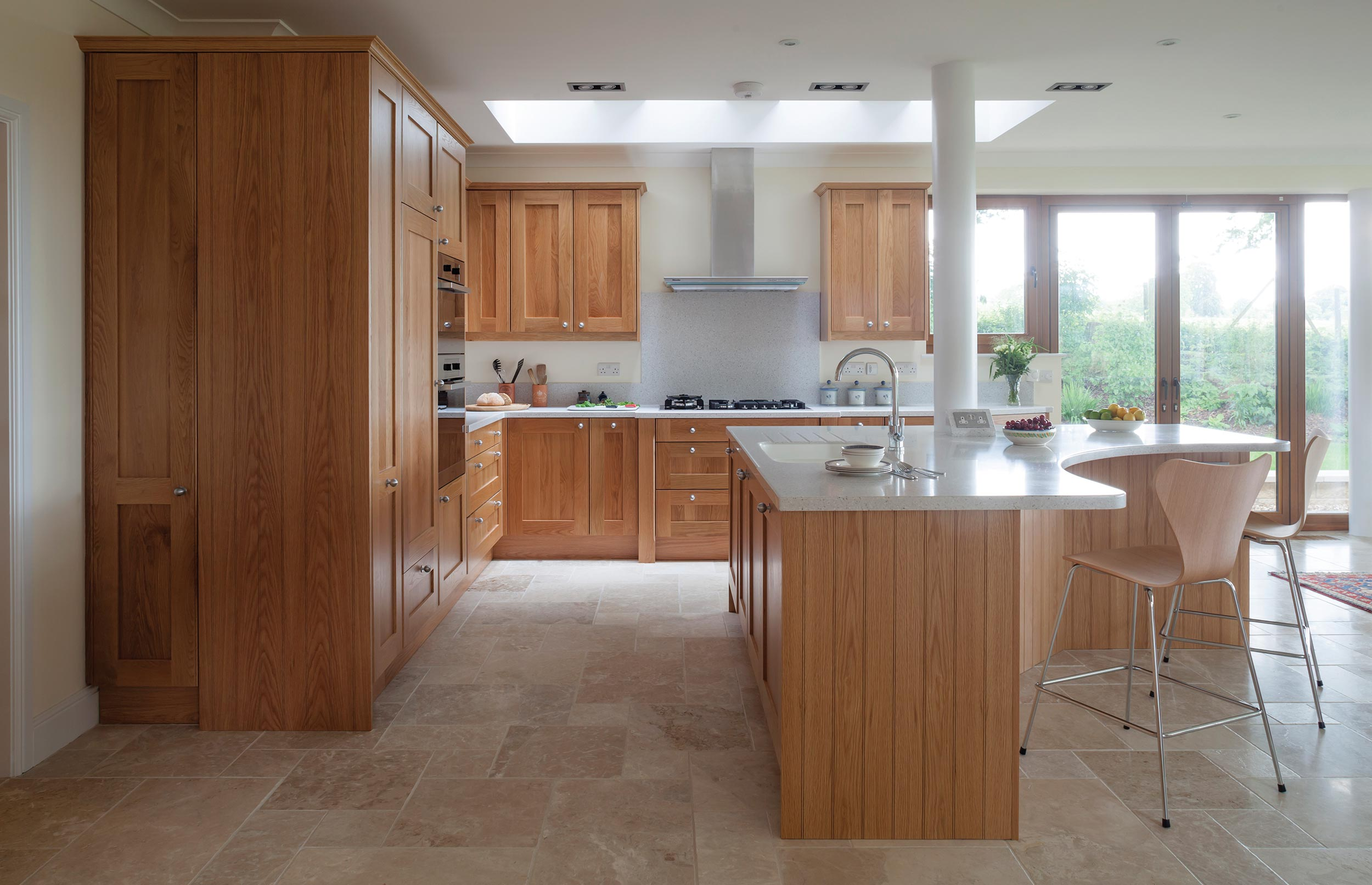 Extension Bespoke Kitchen - View 1