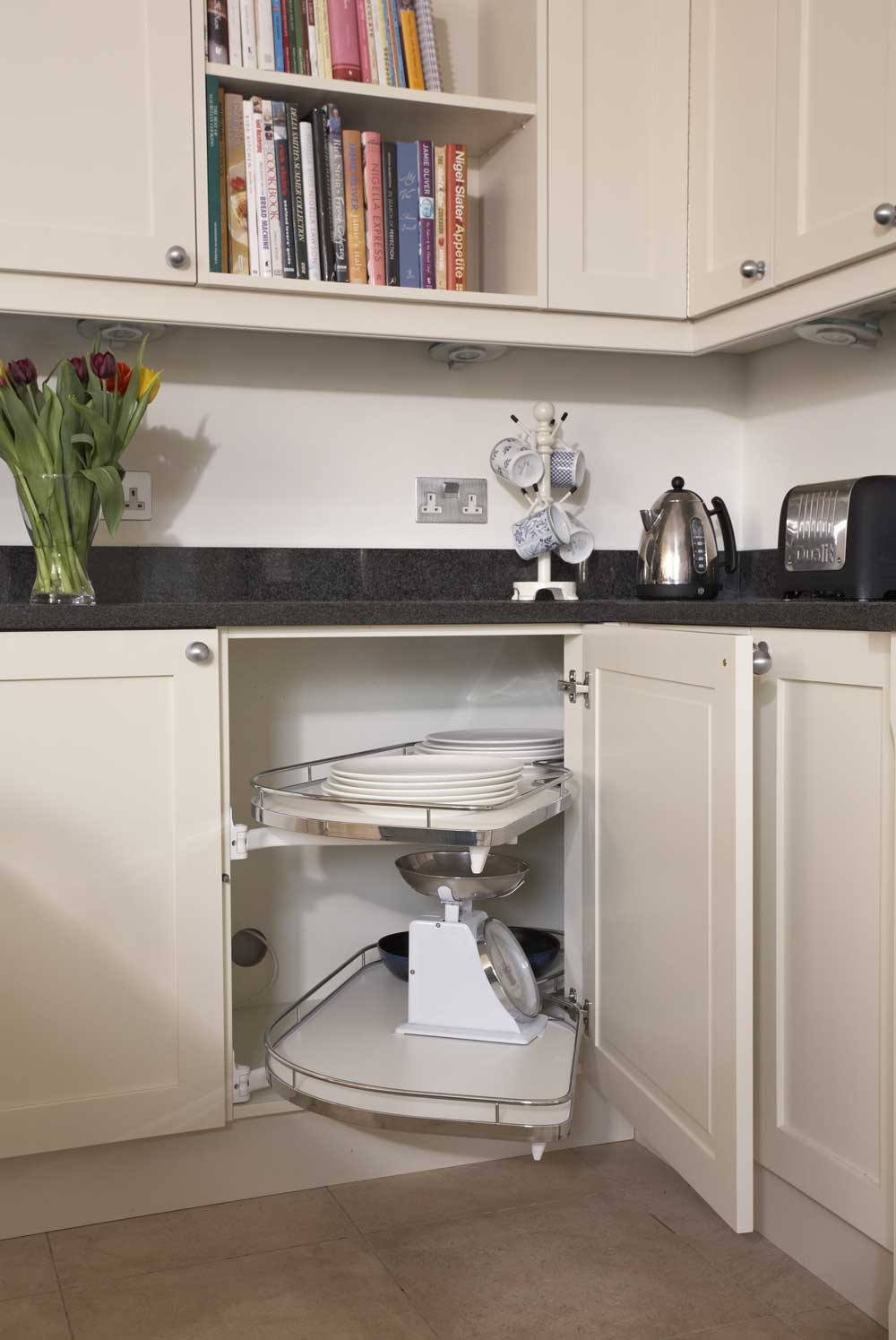 Kitchen Corner Pullouts - Sliding Shelf Cupboards