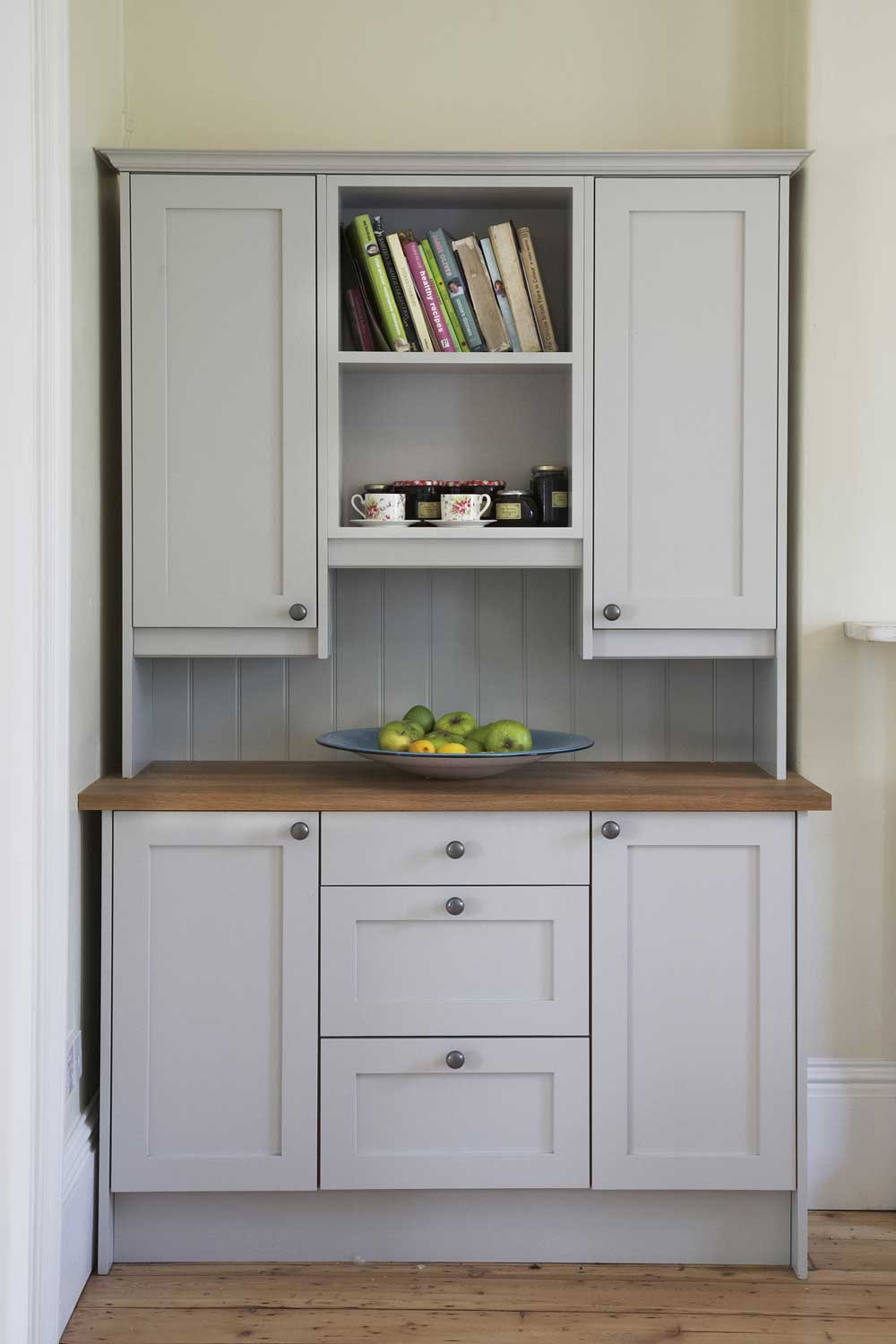 French classic bespoke kitchen cupboard - standalone