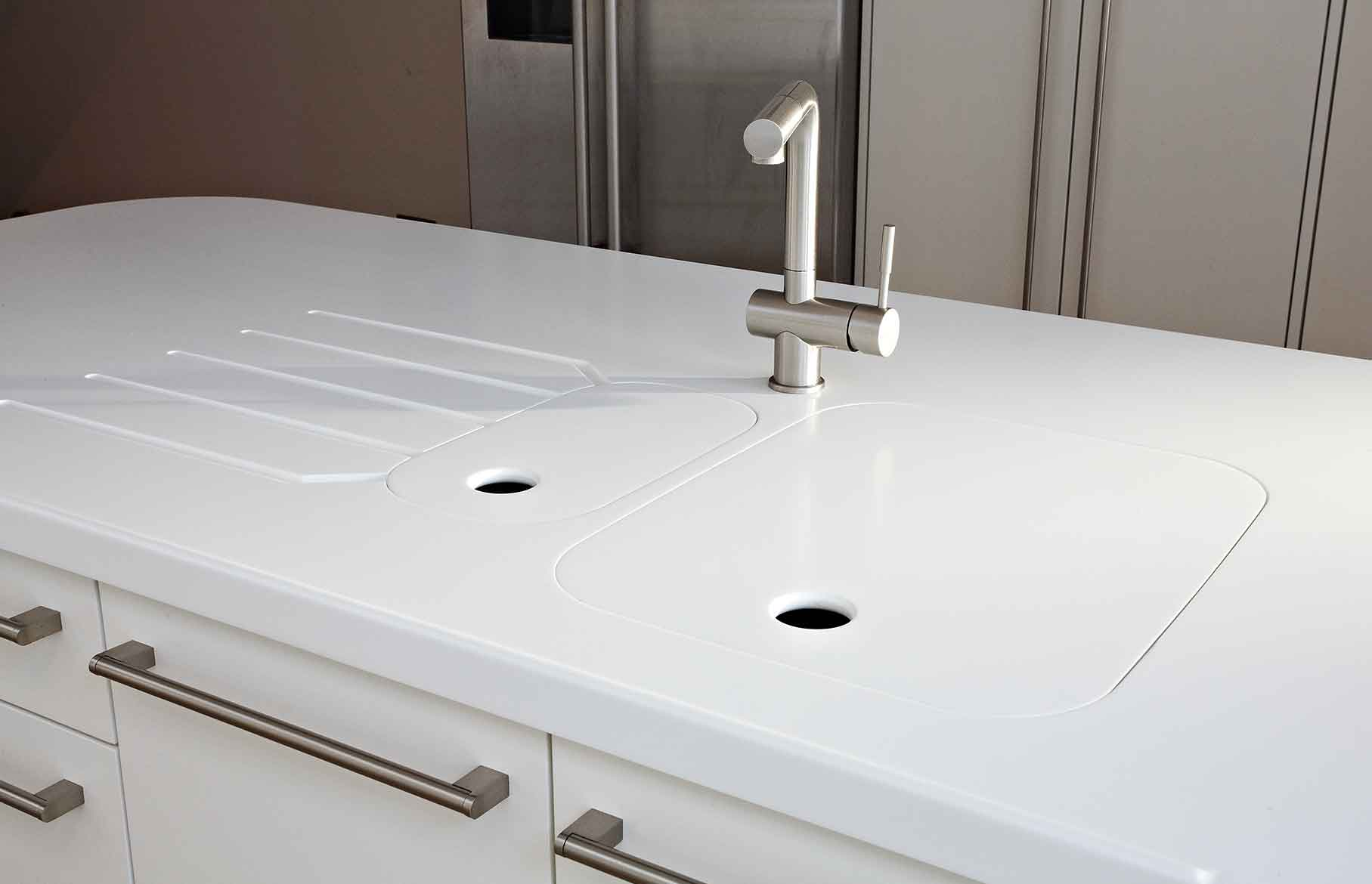Pure bespoke contemporary kitchen sink
