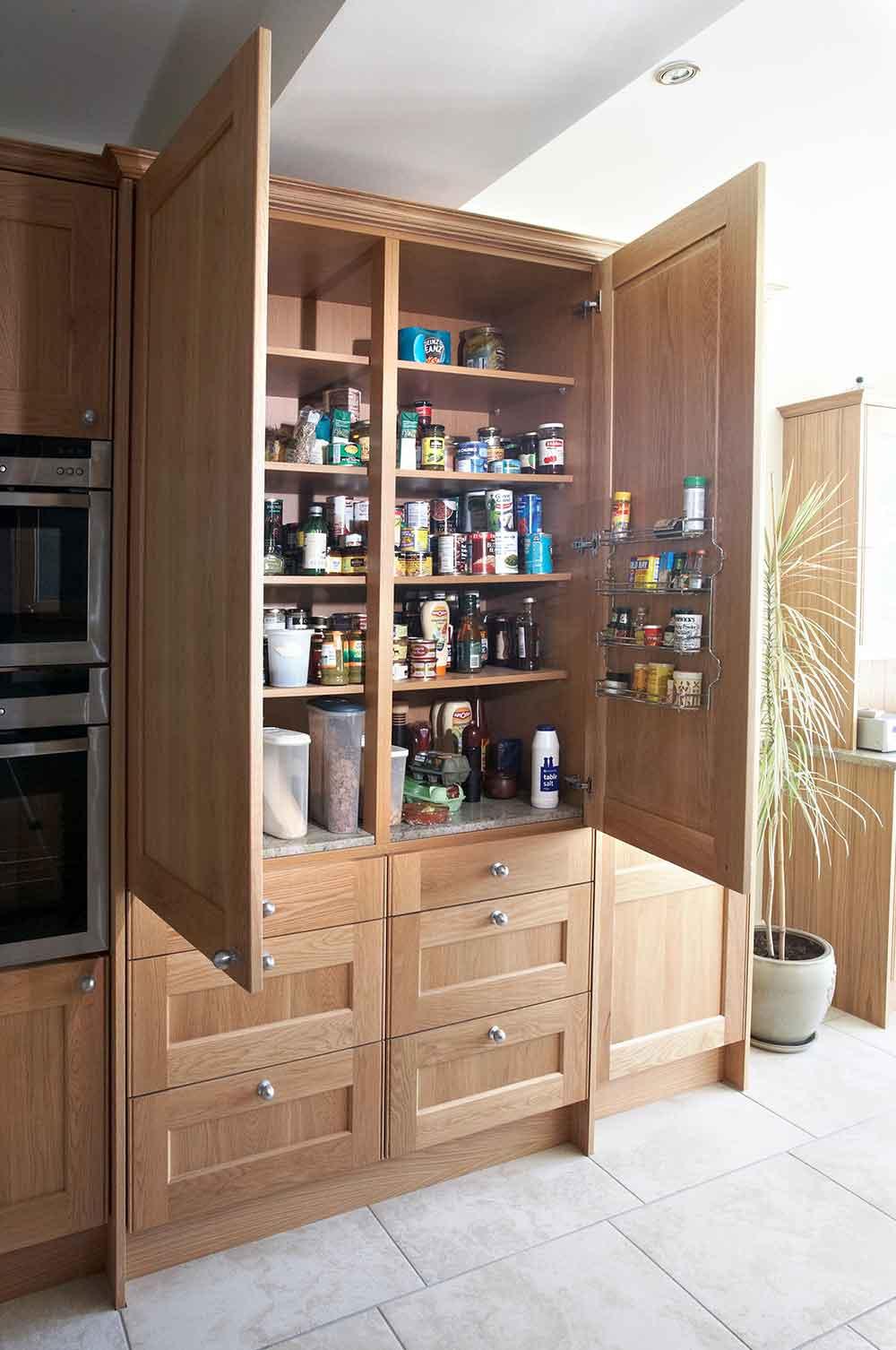 Bespoke lavish kitchen cupboard details
