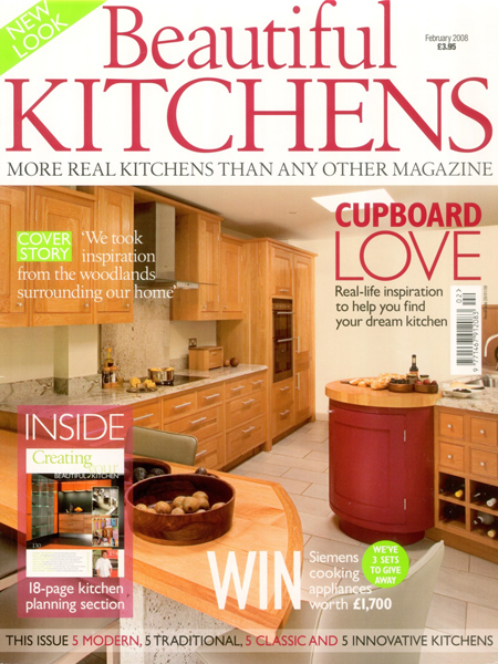 Beautiful Kitchens Feb 2008 featuring Bath Kitchen Company