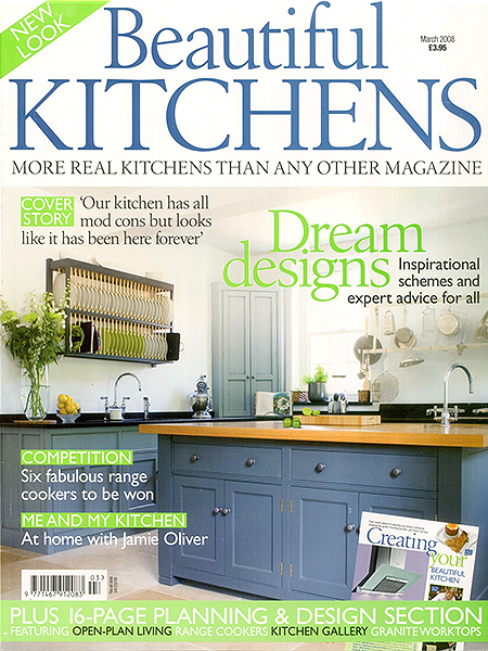 Beautiful Kitchens March 2008 featuring Bath Kitchen Company