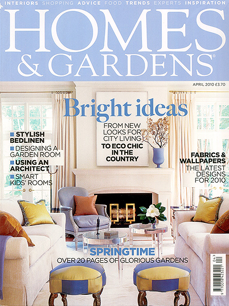 Homes and Gardens April 2014 featuring Bath Kitchen Company