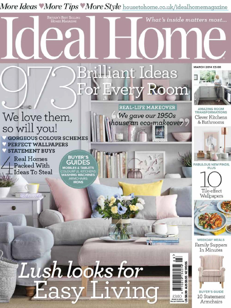 Ideal Home April 2014 Featuring Bath Kitchen Company