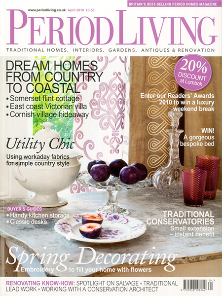 Period Living April 2010 Featuring Bath Kitchen Company