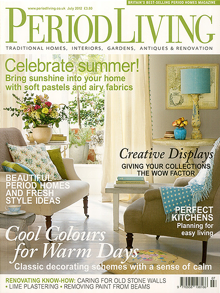 Period Living July 2012 Featuring Bath Kitchen Company