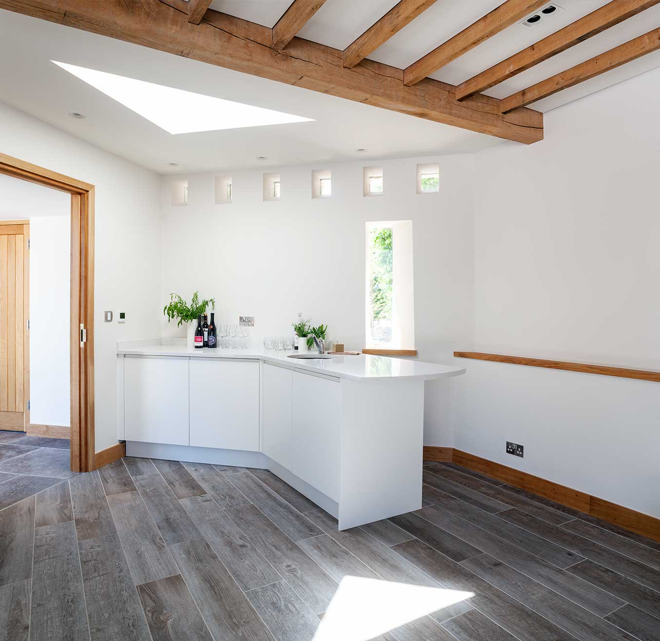 Bespoke kitchen extension in Manor house
