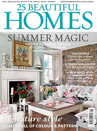 25 Beautiful Homes magazine feature