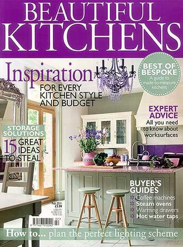 Beautiful Kitchens magazine Featuring Bath Kitchen Company