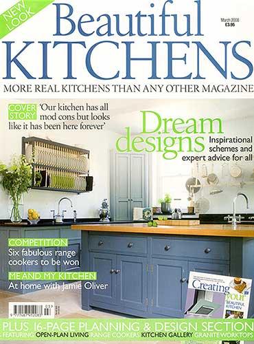Beautiful Kitchens March 2008 featuring Bath Kitchen Company