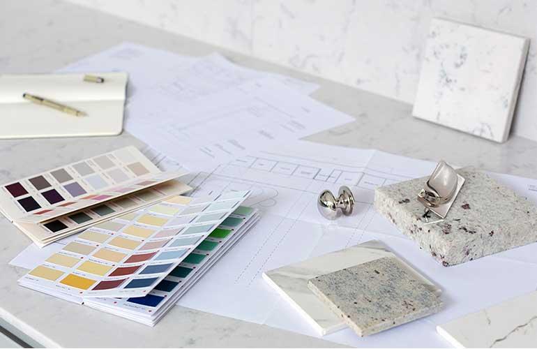 Design Materials for Bespoke Kitchen
