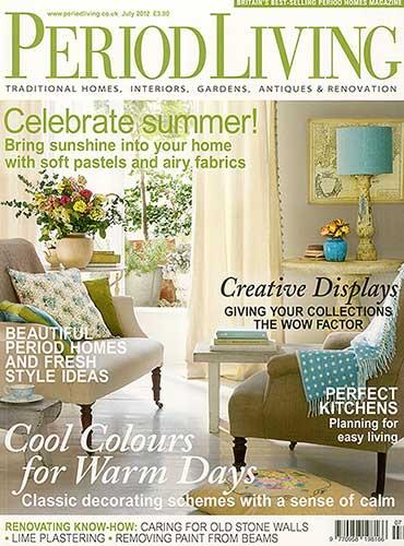 Period Living Magazine featuring BKC